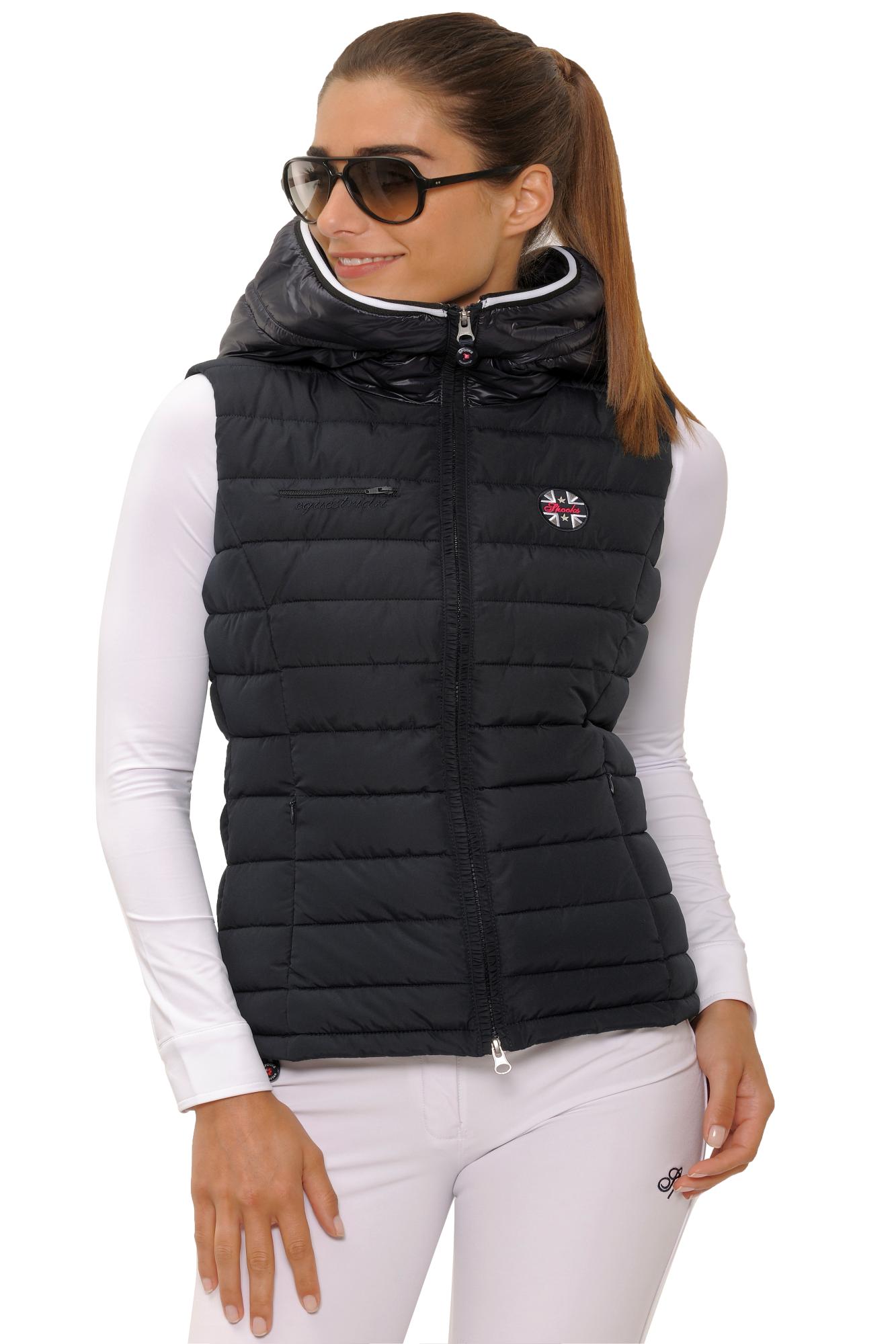 black ralph womens quilt coats vest lauren amazon crest xs dp polo at puffer s women shop quilted
