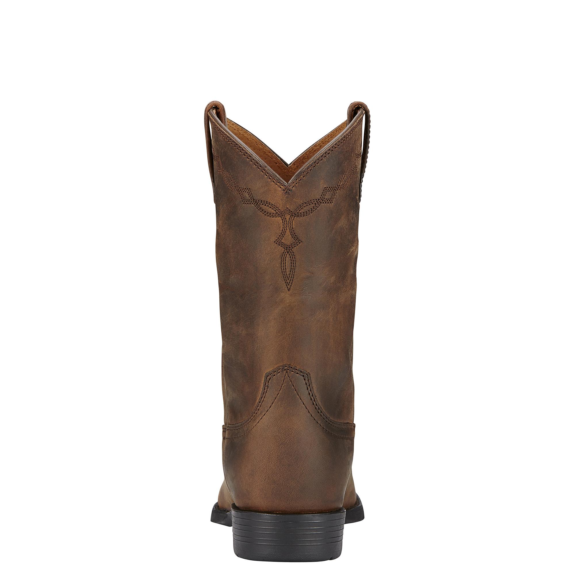 Ariat Braun Heritage Roper Damenschuhe Western Stiefel - Distressed Braun Ariat 1cbab6