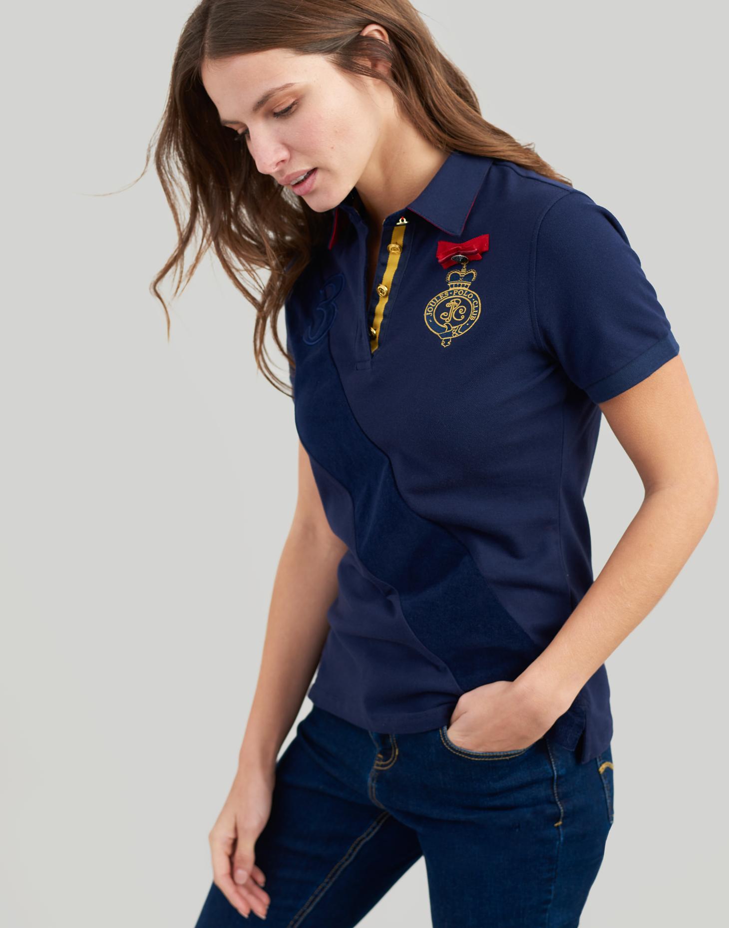 Joules ClaROTon Damenschuhe Polo Shirt - Navy French Navy - 2cf777