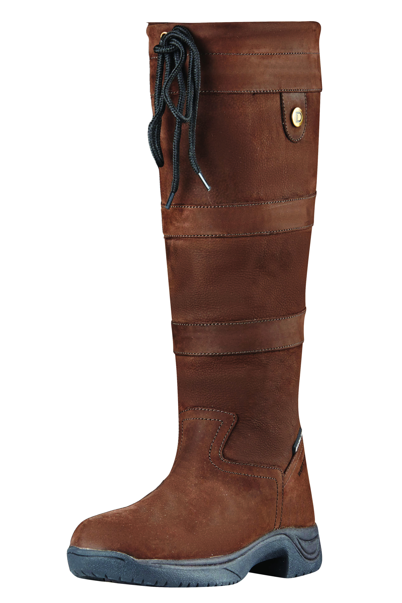 Dublin River Waterproof Stiefel III - NEW STYLE - Waterproof River Membrane - Chocolate 58d747