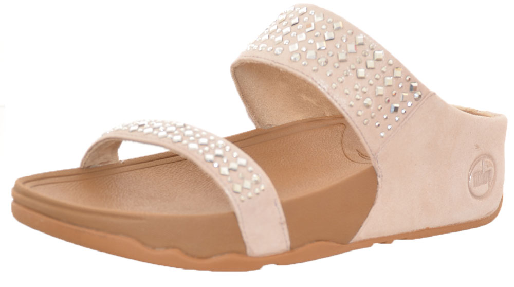 fitflop flare slide pebble uk