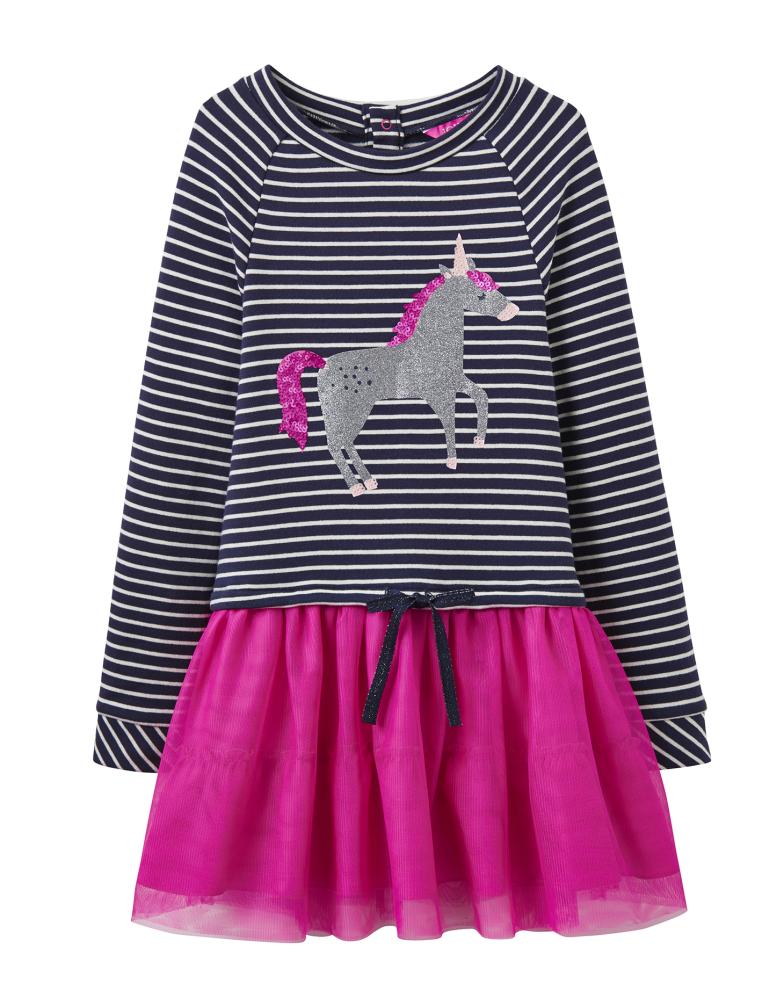 Joules-HETTIE-Tutu-Dress-Glitter-Unicorn-age-4
