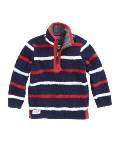 BNWT-Joules-JNR-Woozle-Fleece-Navy-Stripe