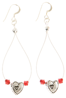 Carrie Elspeth Ruby Princess Range: Earrings
