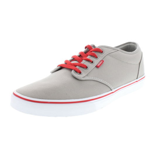 vans atwood grey red