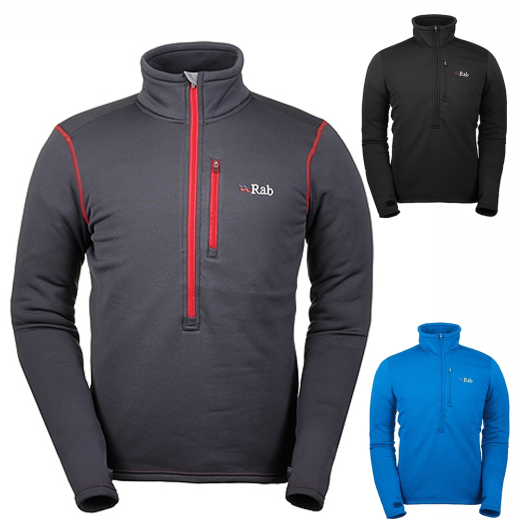 Rab-PS-Zip-Top-Powerstretch-Fleece-Climb-Bike-Kayak-Canoe-Hike-MTB
