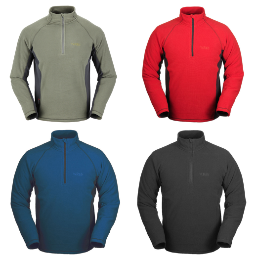 Rab-Orbit-Mens-Fleece-Pull-On-Climb-Hike-Bike-Kayak-Canoe-Camp-amp-More