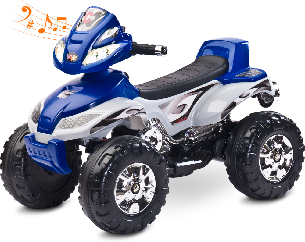 New Quatro Electric Battery Powered Kids Ride On Quad Bike