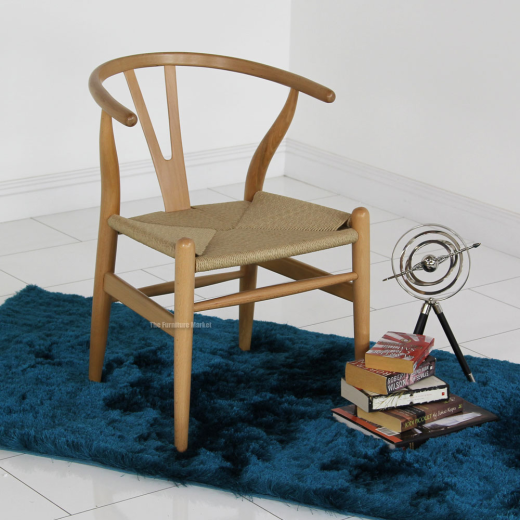 wishbone chair beech replica modern designer furniture dc541