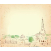 Post-it note: Eiffel tower - Beige
