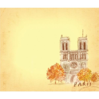 Post-it note: Notre Dame