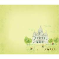 Post-it note: Sacre-Coeur