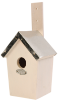 White Bird Nest Box