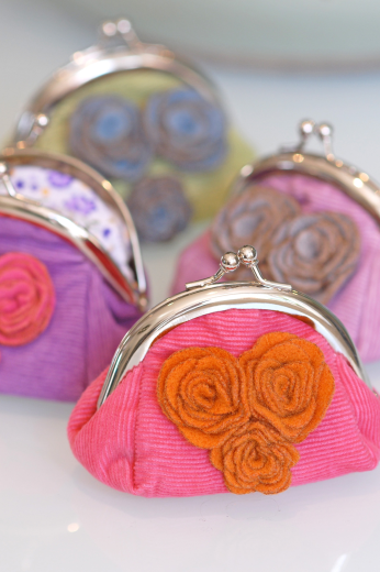 Corsage Purse Flower