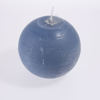 Broste Ball Candle In Nordic Blue