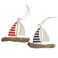 Shoeless Joe Red Or Blue Stripe Driftwood Yachts
