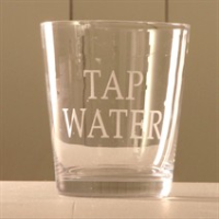 Set of 4 Tap Water tumblers
