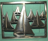 Shoeless Joe Racing Yacht Trivet