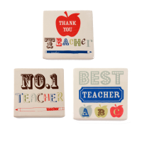 Teacher Ceramic Coaster from Gisela Graham