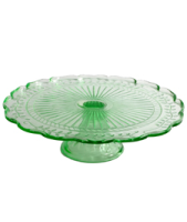 Grand Illusions Large Green Cakestand