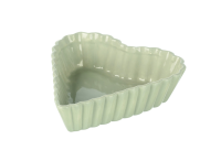Parlane Pale Green Heart Dish - Large