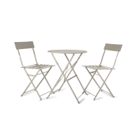 Rive Droite Bistro Set Of Table And 2 Chairs - Clay from Garden Trading