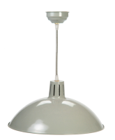 Battersea Pendant Light - Clay from Garden Trading
