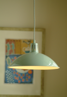 Battersea Pendant Light - Shutter Blue from Garden Trading