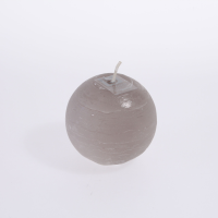 Broste Ball Candle In Linen - Small