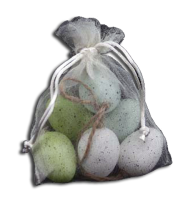 Gisela Graham Mini Egg Bag of 6