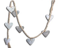 Gisela Graham Heart Garland