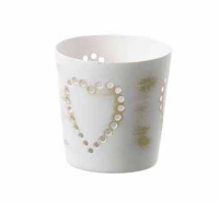 Votive with hearts from Parlane