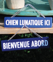 French sign - Bienvenue Abord