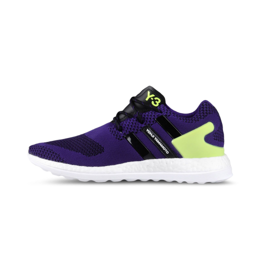 Y-3 Pure Boost ZG Knit RRP£229 Trainers Purple WEISS Yellow RRP£229 Knit 435d17